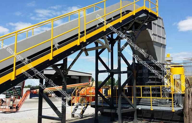 metal vertical shredder China manufacturer