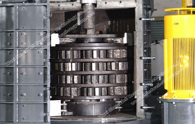 hammers in metal vertical shredder from China