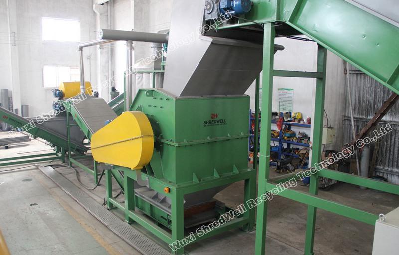 China metal hammer mill shredder