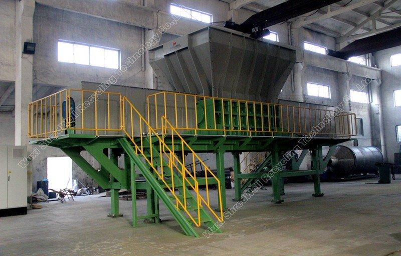 China metal shredder for sale