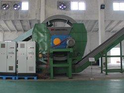 China tire shredder for sale for Vietnam