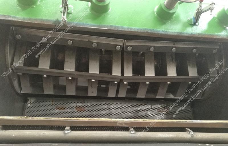 D2 baldes for rubber granulator