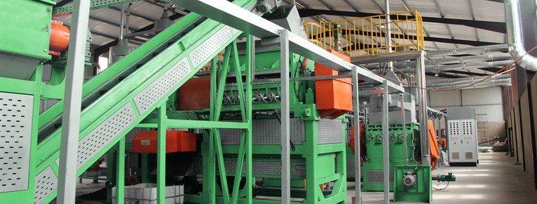 Rasper-Tire Recycling Machine Shredwell