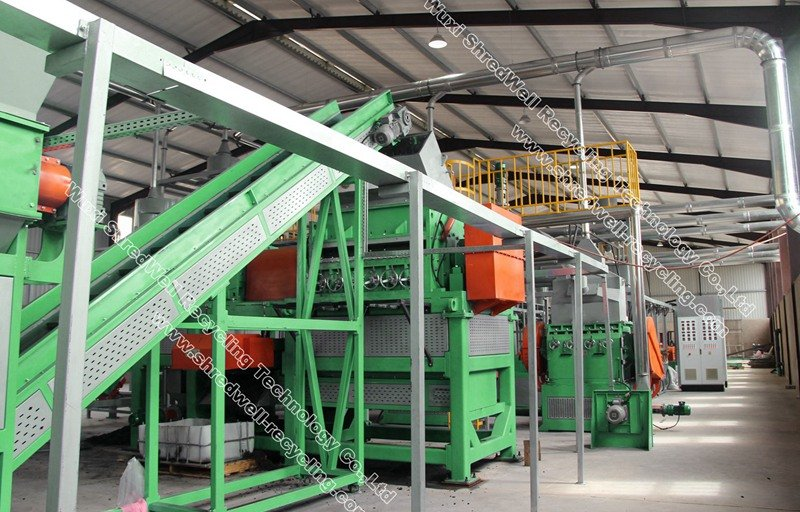 SHREDWELL tire recycling machine best prices