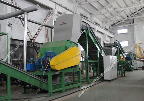 Shredwell HS1680 hammer mill shredder for scrap metal