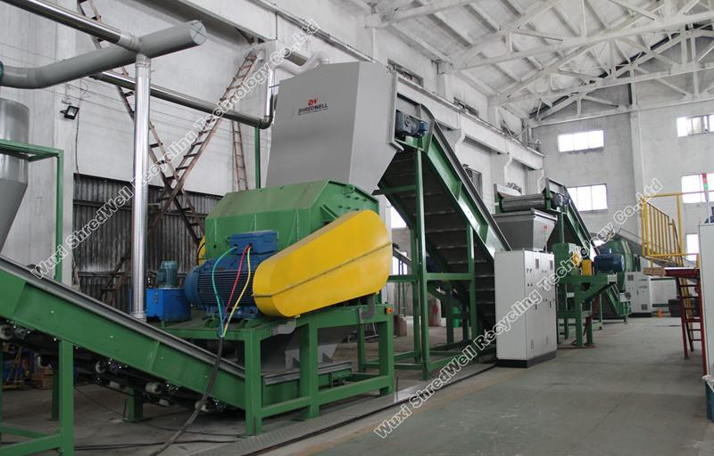 Shredwell hammer shredder from China