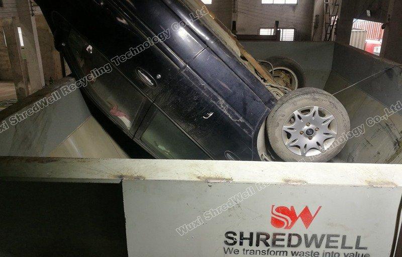 Shredwell metal shredder in China