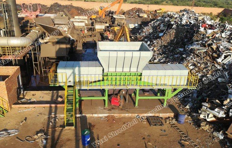 metal shredder in South Africa