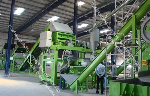 Tire Recycling Machine | Shredwell Rasper for Tyre Recycling