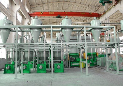 Shredwell rubber powder plant ready to Italy