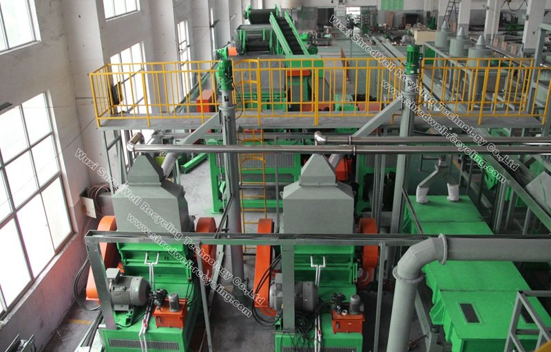 crumb rubber system from China