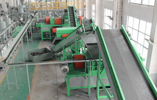 rubber recycling system from shredwell