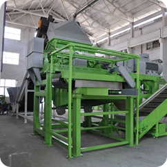liberator in tire steel wire cleaning plant