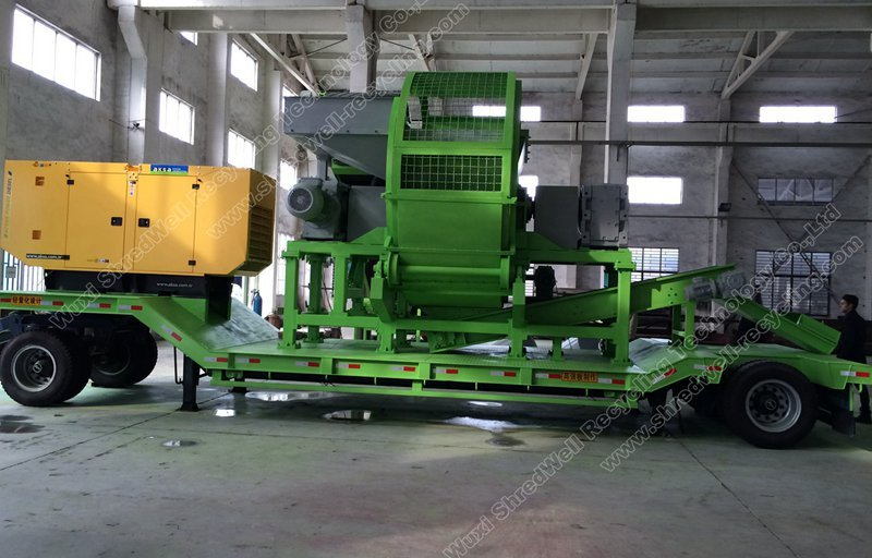 mobile tire shredder for sale low price