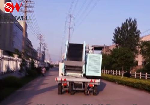 mobile tyre shredder for sale Shrewdell