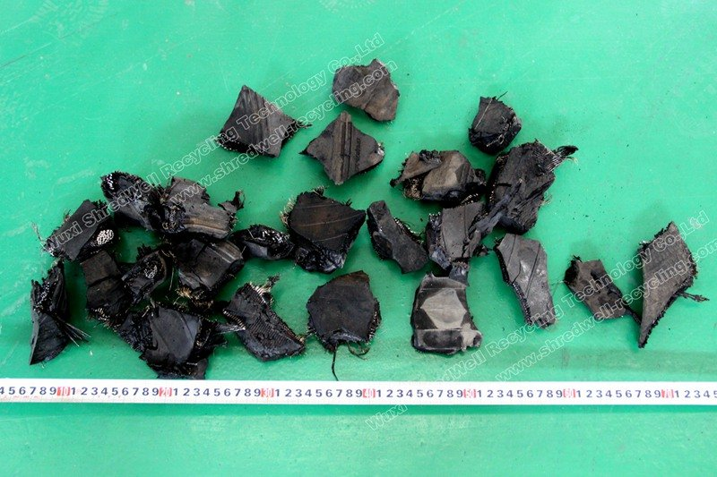 rubber chips after TDF Plant
