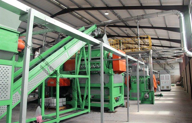 rubber crumb plant manufacturer