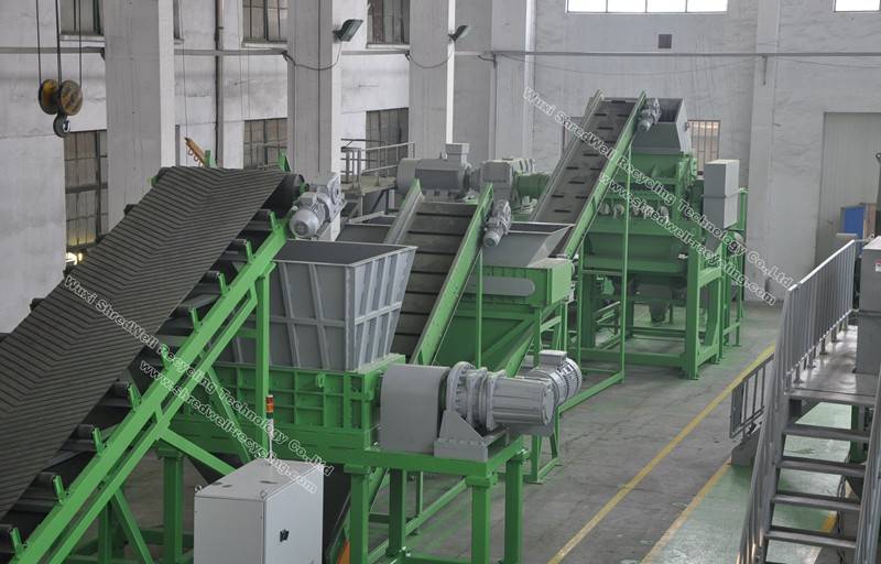 China Tire Recycling System Waste Tyre Recycling System