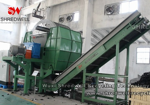 scrap tyre recycling plant from SHREDWELL CHINA