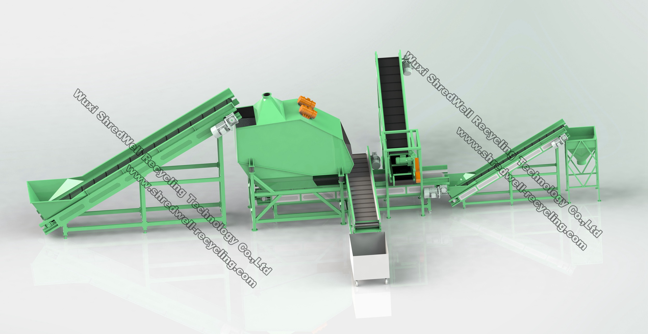 scrap tyre steel wire cleaning system price
