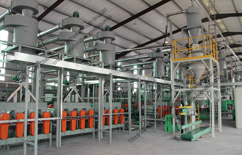 tire recycling line with best price