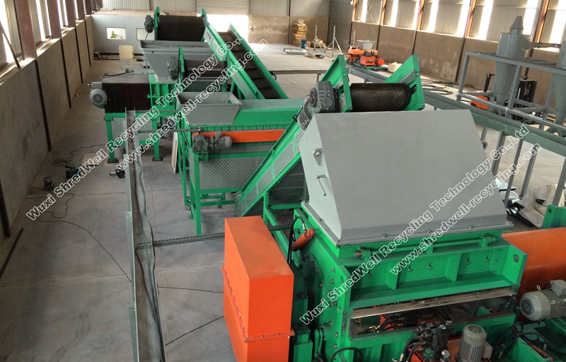 tire recycling system from China