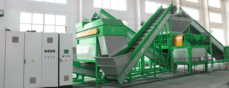 tyre recycle plant for 50mm rubber chips