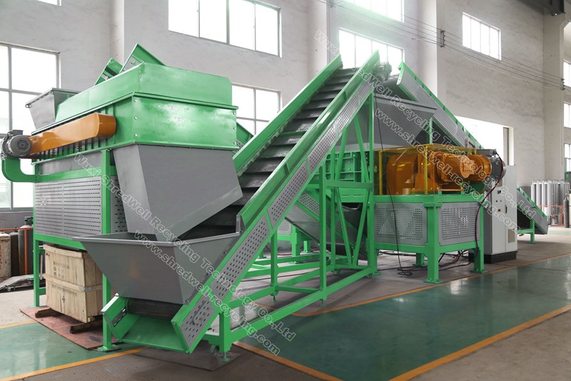 used tyre recycling plant for waste tires