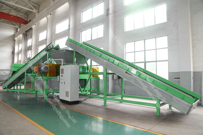 Used Tire Recycling Plant for sale | Waste Tyre Recycle from China