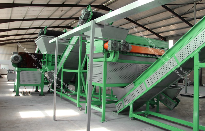 waste tire recycling system for sale