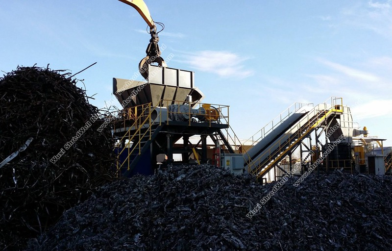 Shredwell Auto recycling plant from China