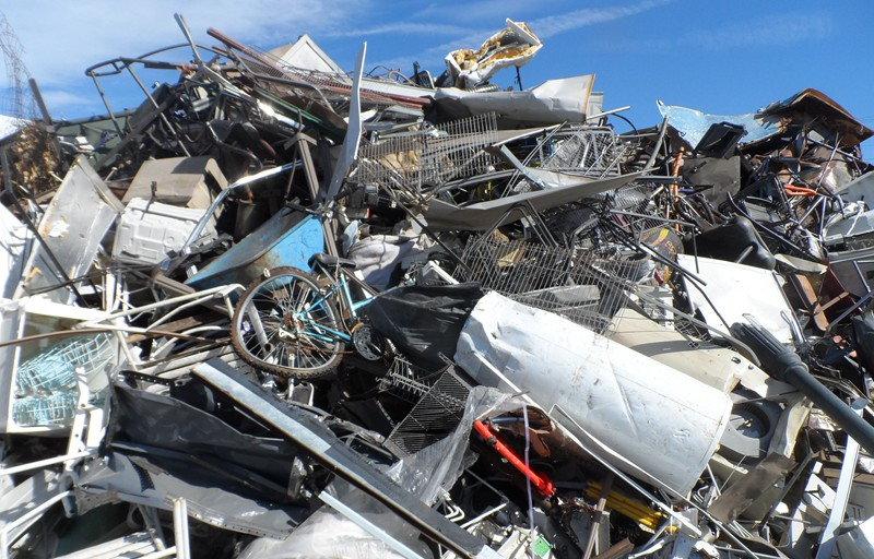 scrap metal recycling plant from SHREDWELL