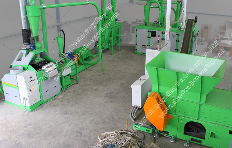 Cable Recycling Plant | Copper Wire Recycling Machine Manufacturers