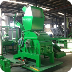 granulator in cable granulation plant