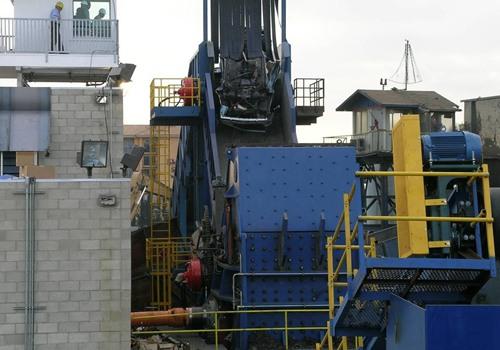 hammer mill shredder for end of life vehicle shredding plant