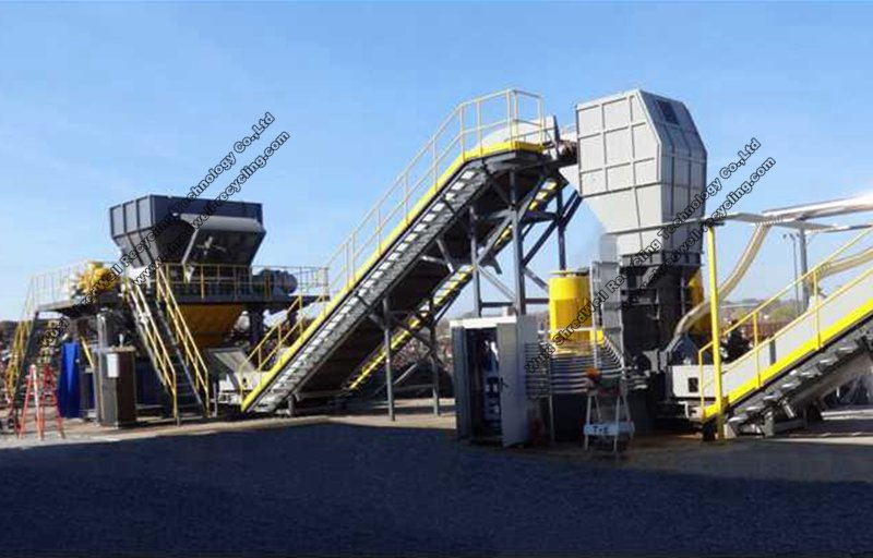 Metal Recycling Plant | scrap metal recycle system