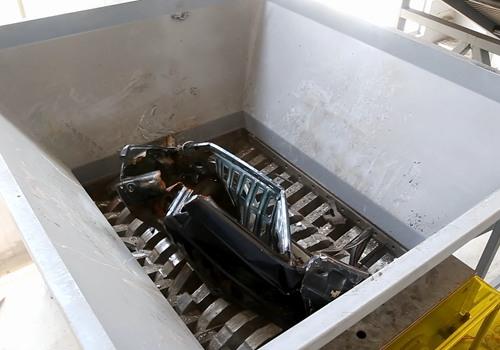 metal shredder for car recycling plant