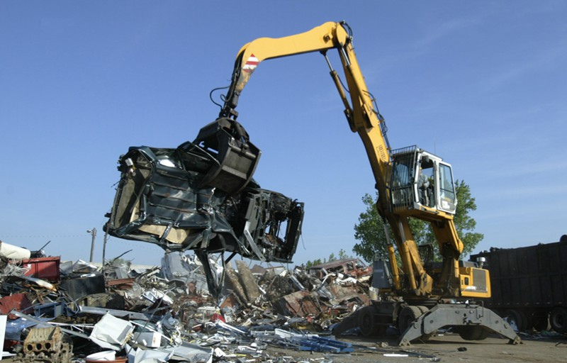 Metal Car Recycling Plant on scrap metal shredding