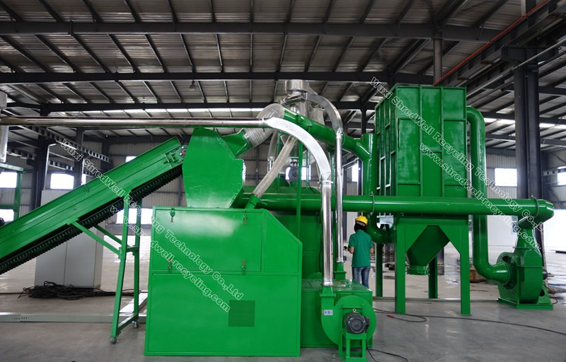 Cable Recycling Plant Copper Wire Recycling Machine