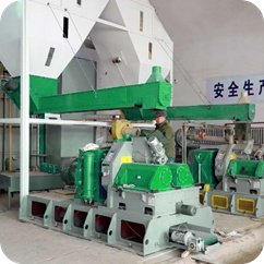 wood pellet mill in wood recycling plant