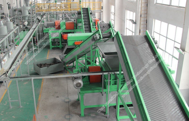 Packing Plant Produce : Wood recycling plant scrap shredding processing system