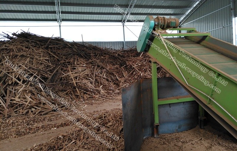 Wood Recycling Plant | Scrap Wood Shredding&Processing System