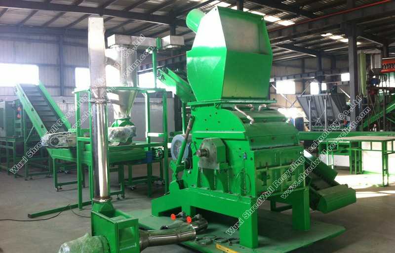 Weee Recycling Plant China E Waste Recycling System