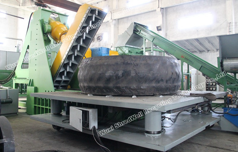 Mining Tire Cutter from China