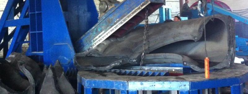 OTR tire cutter in Russia