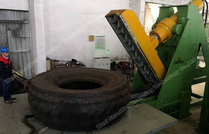 tire cutting OTR