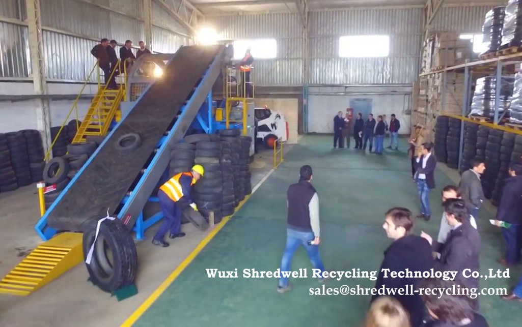Uruguay tyre recycling plant for scrap tires