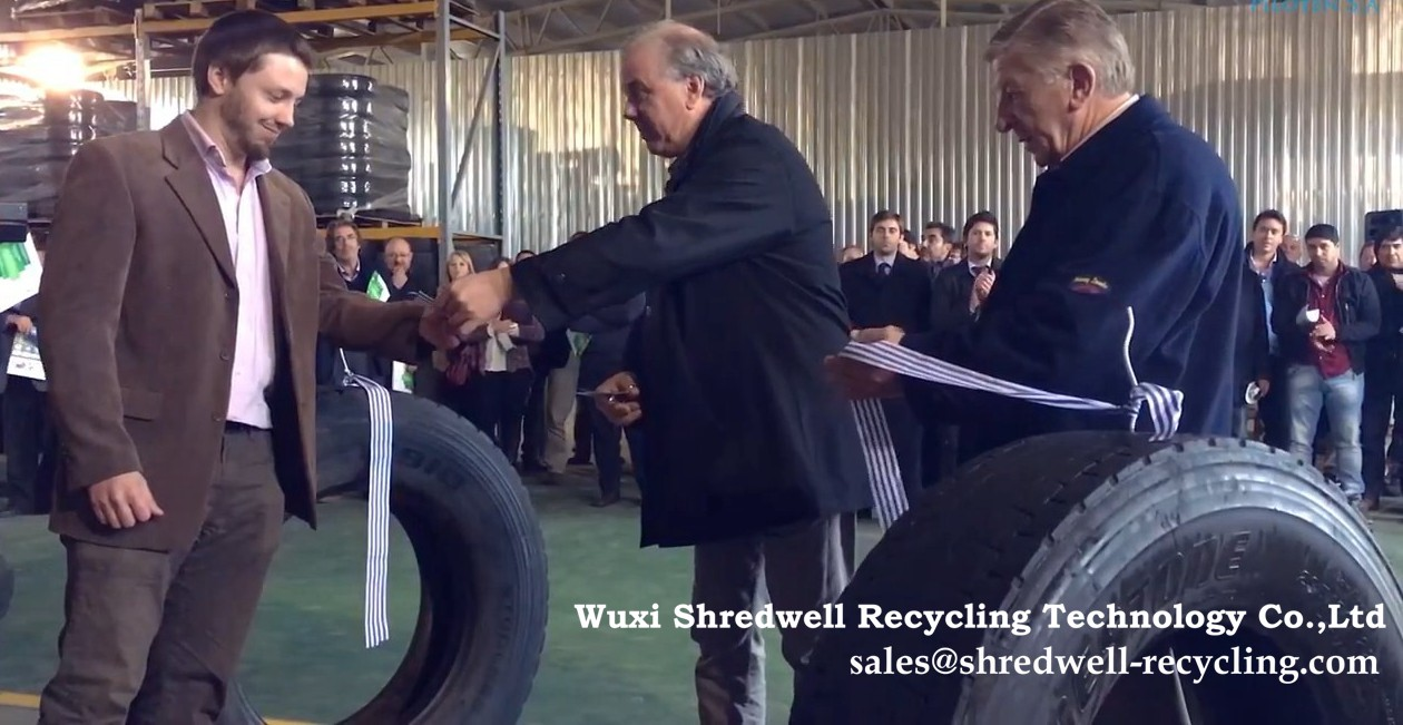 waste tyre recycling plant in Uruguay