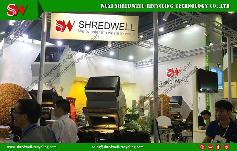 shredwell in Chinaplas 2017