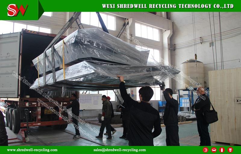 China metal shredder for Israel